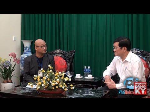 Phỏng vấn Chủ tịch nhà nước Việt Nam Trương Tấn Sang