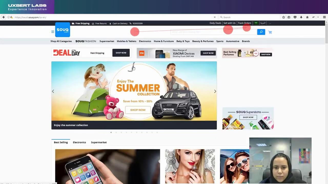 Usability Engineering in Saudi Arabia: E-commerce Website Souq com