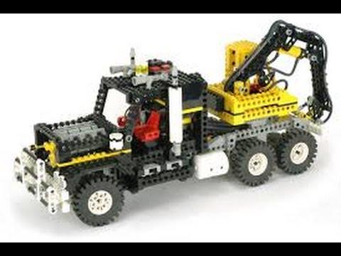 Lego Technic 8868 Air Tech Claw Rig Instructions Year 1992 Youtube