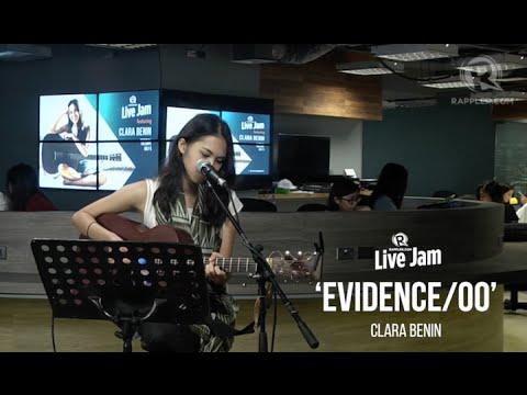 Rappler Live Jam: Clara Benin - 'Evidence/Oo'