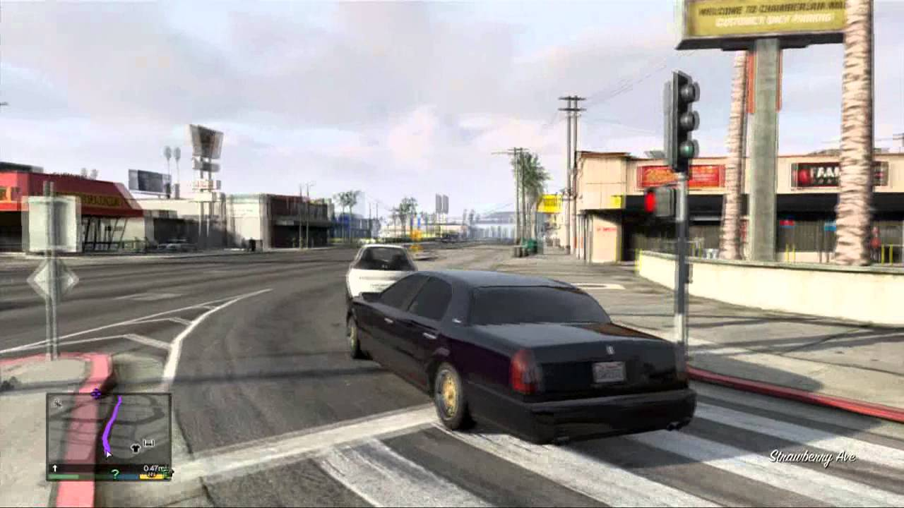 Gta V Albany Washington Sedan Youtube