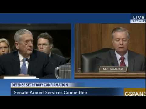James Mattis and Lindsey Graham on Israel, North Korea, Russia and Iran.