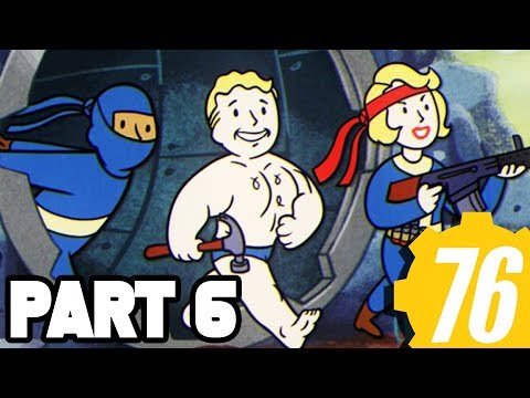 Fallout 76 Walkthrough Gameplay Part 6 - TRAINS AND PLANES + FULL GAME (Xbox One X Fallout 76)