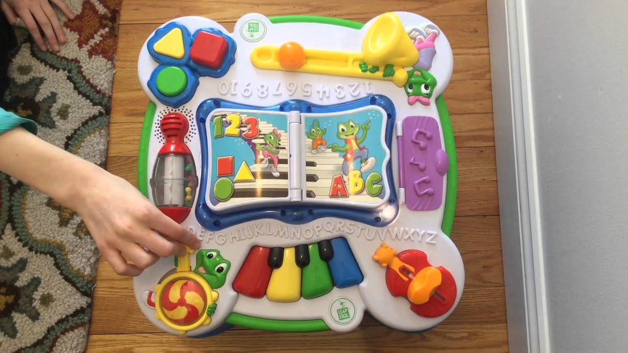 Leapfrog Learn U0026 Groove Musical Learning Activity Table For Infants And  Toddlers   YouTube