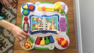 Leapfrog Learn & Groove Musical Learning Activity Table For Infants And Toddlers