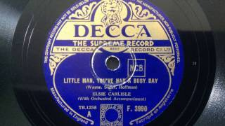 "Elsie Carlisle - ""Little Man, You"