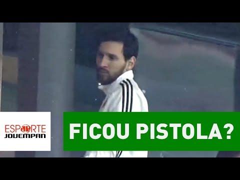 Ficou Pistola? OLHA Como Messi Reagiu A Espanha 6 X 1 Argentina!