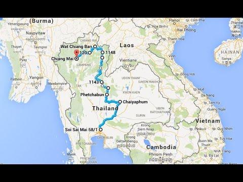 Thailand: Motorbike trip from Bangkok to Chiang Mai