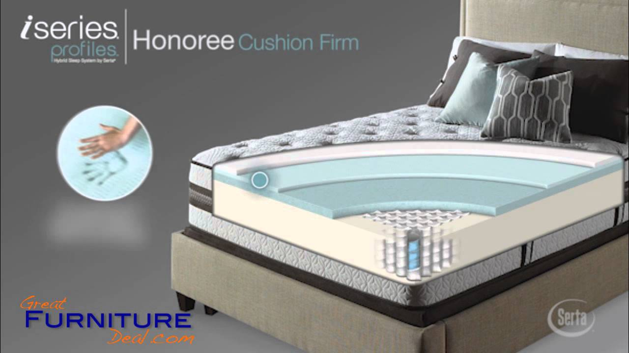 Serta Mattress Iseries Profiles Honoree Cushion Firm By Greatfurnituredeal You