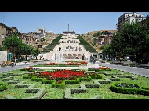 КАСКАД - Уникальнейший Уголок Еревана