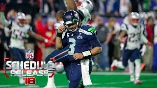 Top 16 NFL Games   2016 NFL Schedule Release