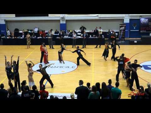 IDTA Greek Area Contest 2015: Adults: Five Dance Latin: Quarter-Final
