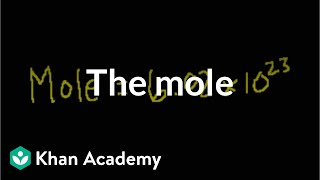 The mole and Avogadro's number | Atoms, compounds, and ions | Chemistry | Khan Academy
