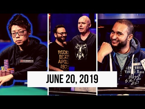 News From The 2019 World Series Of Poker: June 20