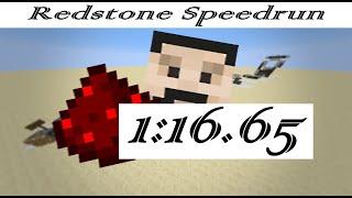 Mumbo Jumbo Redstone Speedrun Former World Record- 1:16.65
