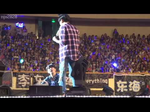 150627 D&E Shanghai Ment- Hae: you all don't be so loud... (ok, complain we too loud kkk....)