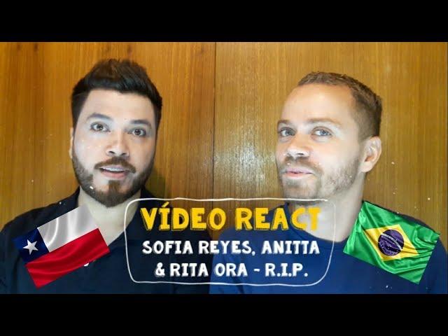 Sofia Reyes - R.I.P. Anitta & Rita Ora (Vídeo Reacción)