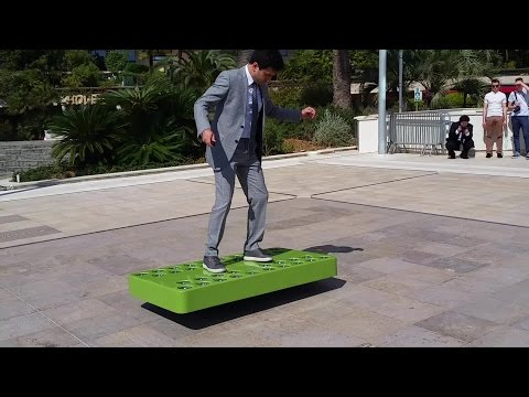 Introducing the ArcaBoard in Monaco - ArcaBoard: The First Real Hoverboard ? Top Marques 2016