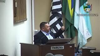 18ª Sessão Ordinária - Vereador Walmir Chaveiro
