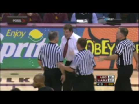 Is Tim Floyd Gonna Have To Choke A Ref?