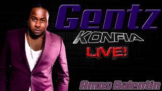 Gentz ft Amos Balentin - Konfia Live (Cover)
