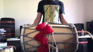 Download Hindi Video Songs - Buk Len De (Kay V Singh) Dhol Cover // Dholi Hanzo