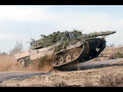 Panzer-Führerschein Bei Der Bundeswehr Mit Dem Leopard 2