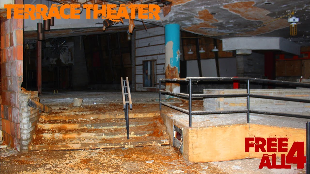 Abandoned terrace theater old movie theater youtube for The terrace movie theater