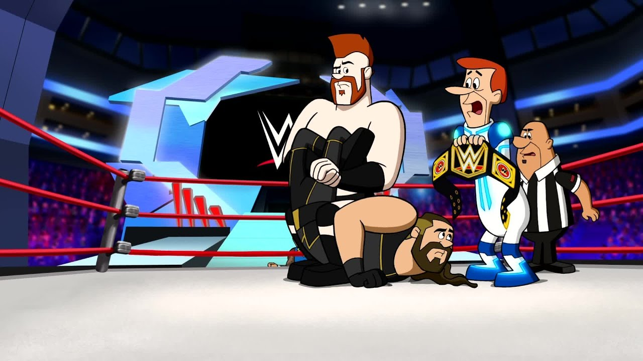Wwe superstars meet the jetsons in an all new movie youtube m4hsunfo