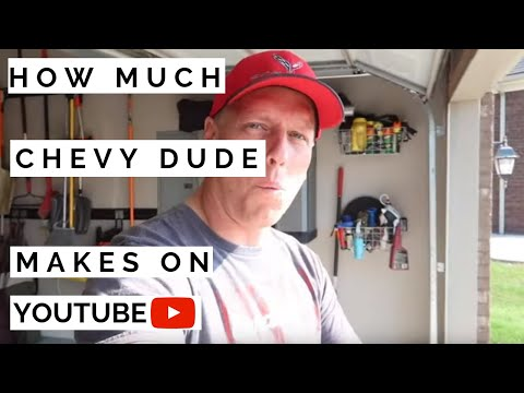 how-much-chevy-dude-makes-on-youtube