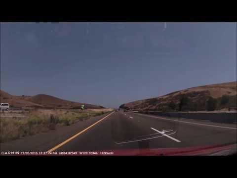 Driving Through Santa Maria, California
