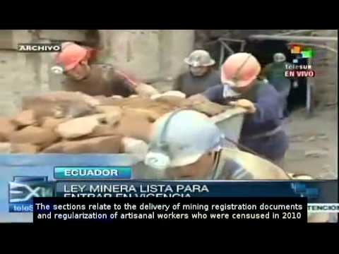 Mining Law in Ecuador ready to enter into force