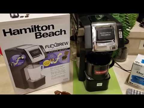 "My NEW Hamilton Beach Brands ""Flex Brew"" REVIEW!!!"