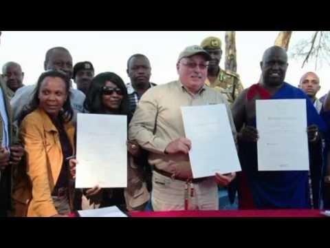 Masai lease ancestral land to elephants