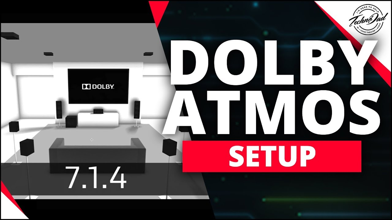 dolby atmos setup surround