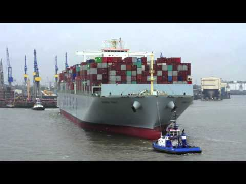 Shipping on Thames, Elbe, Amsterdam and Baltic - July 2015