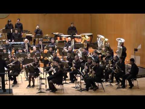 2016-02-12 Banda Profesional CMUS e Banda Municipal de Santiago   Piccadilly Circus Overture