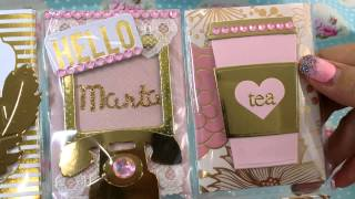 Pocket Letter Swap with Laces and Pearls