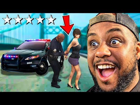 Playing GTA 5 As A POLICE OFFICER!