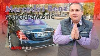 Mercedes S400d MOPF 2018 / Test / Fahrbericht / Review