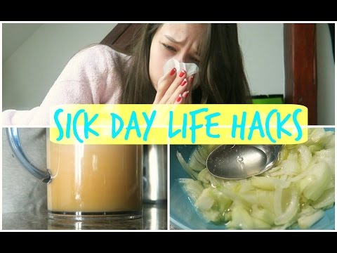 Sick Day Life Hacks | How To Fight a Cold or Flue Naturally