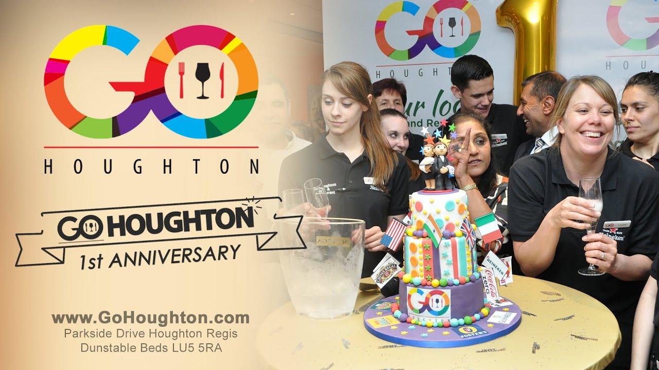 Go houghton s st anniversary promo bar and restaurant