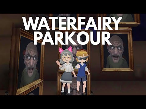 【Granny's House Online】 waterfairy parkour craft mode map