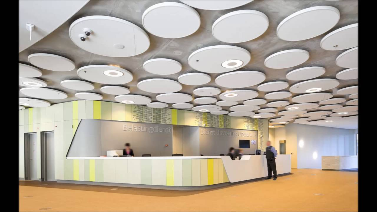 Office Interior Design Modern Lobby Space Best Picture - YouTube