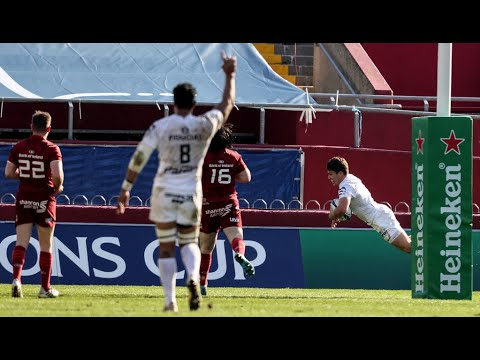 Munster Rugby v Toulouse Round of 16 Highlights 03.04.21
