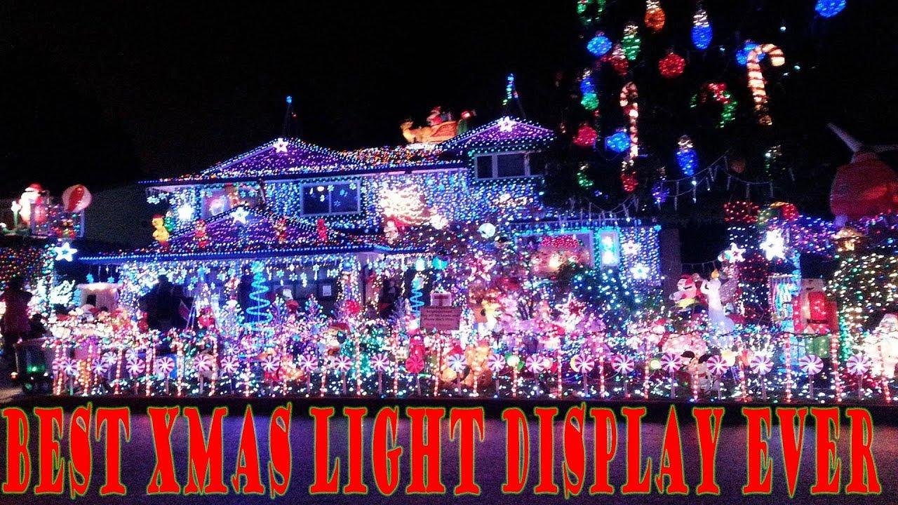 best programmed christmas light set up i ever seen wisconsin
