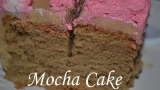 Mocha Chiffon Cake (filipino Version)