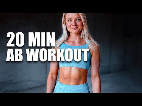 20 MIN WORKOUT OF THE DAY | CORE & ABS | INTENSE HOME WORKOUT | NO EQUIPMENT