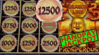 UNBELIEVABLE 😱! Dragon Link Slot Machine ✦HANDPAY JACKPOT✦ | Fantastic Session & Awesome COMEBACK