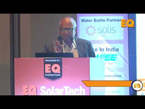 Goutam Samanta, Head- PV Technology, Orange Renewable Power Pvt. Ltd at EQ SolarTech Conference
